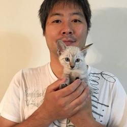 さいたま市の里親様とプニちゃん(*^^*)