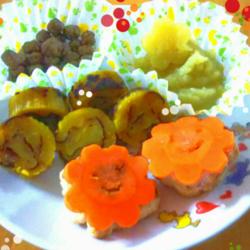 謹賀新年_手作り犬ご飯『おせち料理』