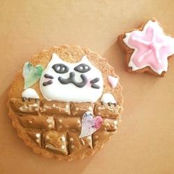 ワークショップ「猫モチーフアイシングクッキー教室」