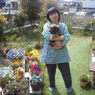 素敵なお庭の優しいお母さん宅へ~リッツくん♡