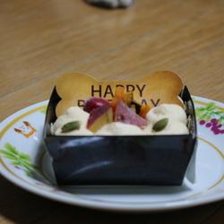 誕生日(1歳)