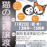 保護猫の譲渡会 & TNR相談会