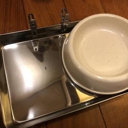 ニャンコのご飯皿