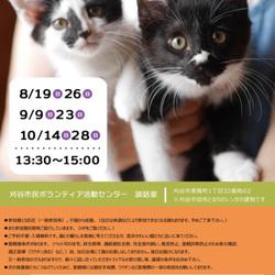 刈谷市で開催!!  合同譲渡会