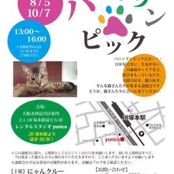 10月7日第11回パニャリンピック-障害猫さんの譲渡会