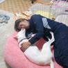 お父さんと寝んね!