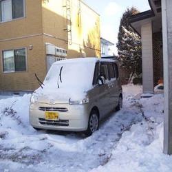 「初真冬日おまけに積雪12cm!」サムネイル2