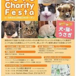 知ろう 繋ごう 犬猫うさぎLOVE CHARITY FESTa