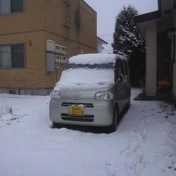 またもや積雪の北海道!