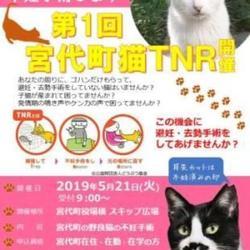 5/21(火)第1回埼玉県宮代町一斉TNR
