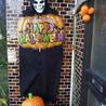 ハロウィン飾りが怖いベルクさん!