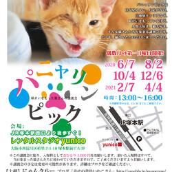2月7日第25回パニャリンピック&にゃスターズー障害猫さん&シニア猫さんの譲渡会