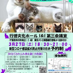 【千葉県市川市】イコール保護猫譲渡会vol.5